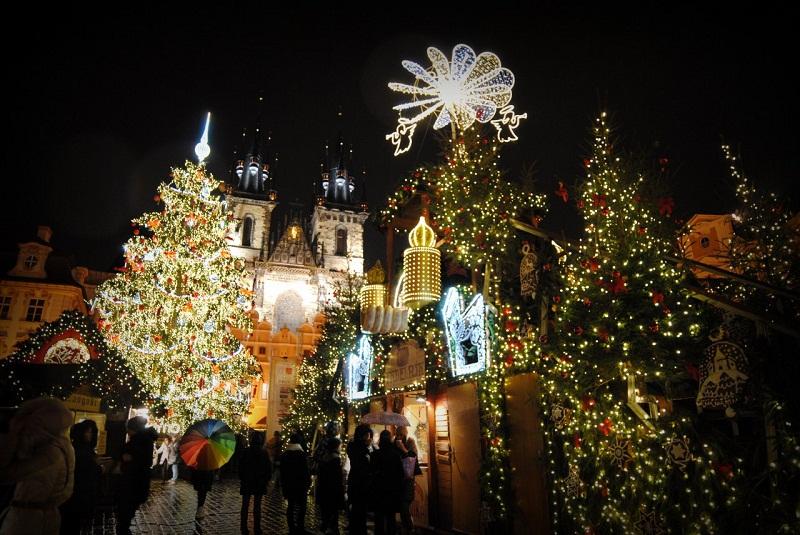 Как празднуют новый год в чехии