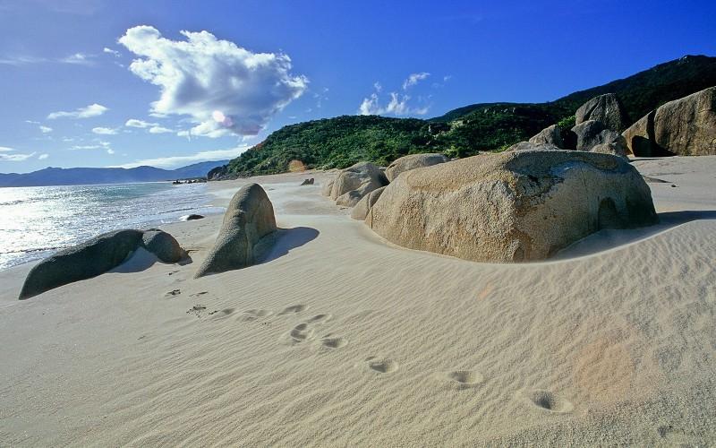 хайнань пляж