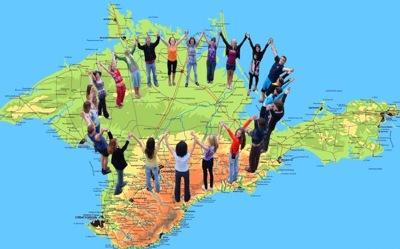 Презентация русского крыма взбесила украинцев