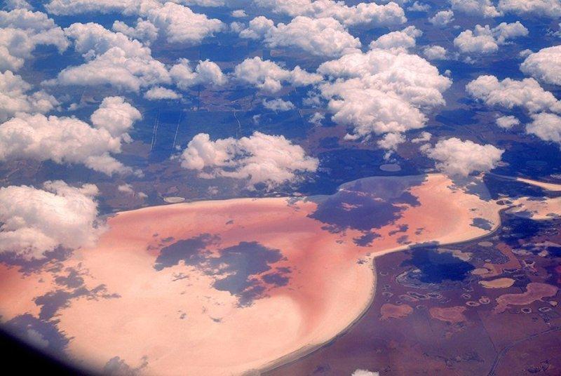 розовое озер