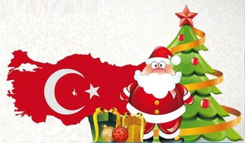 Поздравление с новым годом. на турецком