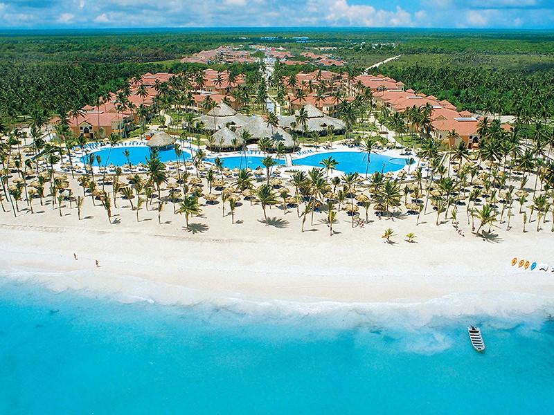 Пляж-курорта-Пунта-Кана-в-Доминикане
